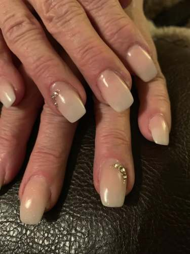 Coffin Nails decked out with jewels