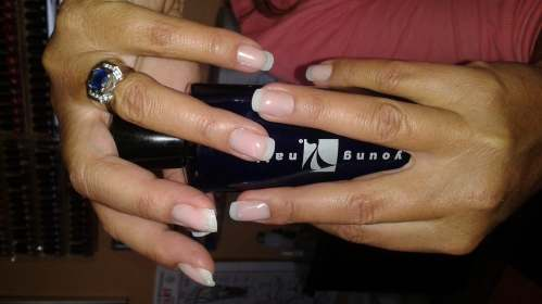 Young Nail Acrylics - for a clear and natural look