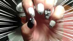 Black & White for October Halloween party